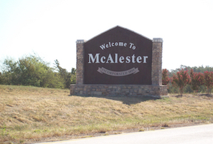Discount hotels and attractions in McAlester, Oklahoma