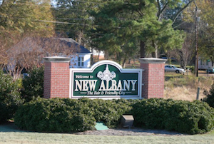 Cheap hotels in New Albany, Mississippi